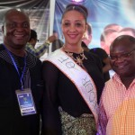 Deacon Vincent Erinwo, Mandy Stewart of the Treasure Base Band and Chris Anani of the RSTDA at CARNIRIV BRIEFING